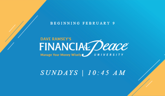 Financial Peace University Winter 2020